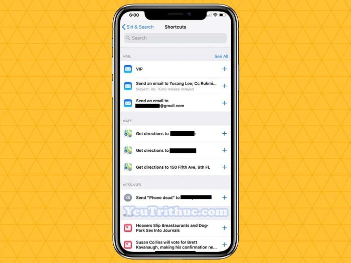 Cách sử dụng các tính năng mới của iOS 12 trên iPhone XS, XR 6