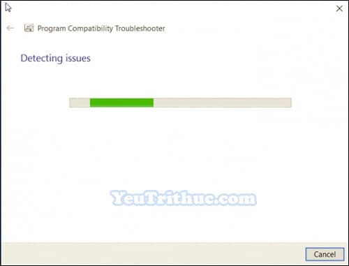 Chế độ Tương thích Ứng dụng Compatibility Mode trên Windows 10 3