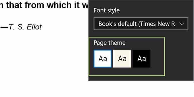 Cách cài đặt Font chữ, Theme đọc sách trên trình duyệt Edge 8