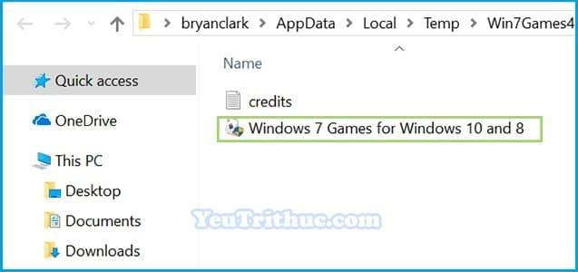 Cách tải và cài đặt game cổ điền Windows 7 cho Windows 10 5