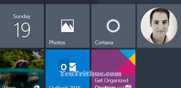Cách thêm danh bạ Contract vào menu Start trong Windows 10 1