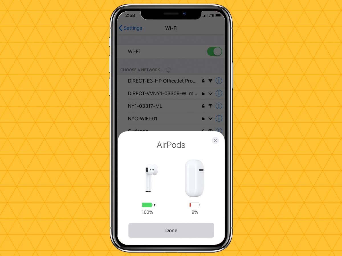 Cách kết nối tai nghe không dây qua Bluetooth trên iPhone XS, XR 10