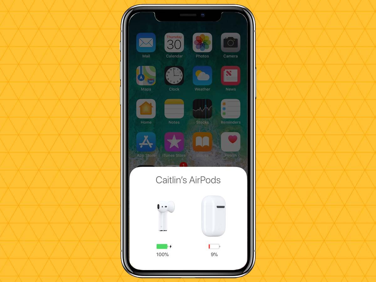 Cách kết nối tai nghe không dây qua Bluetooth trên iPhone XS, XR 11