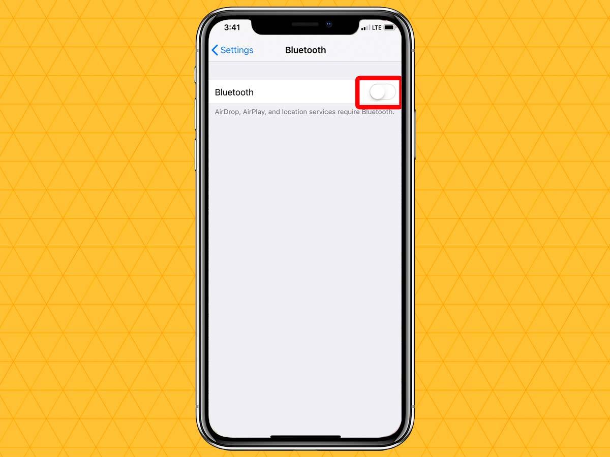 Cách kết nối tai nghe không dây qua Bluetooth trên iPhone XS, XR 4