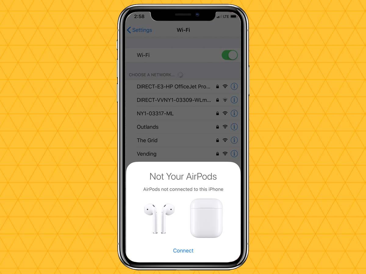 Cách kết nối tai nghe không dây qua Bluetooth trên iPhone XS, XR 7