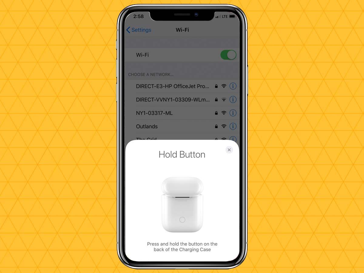 Cách kết nối tai nghe không dây qua Bluetooth trên iPhone XS, XR 8