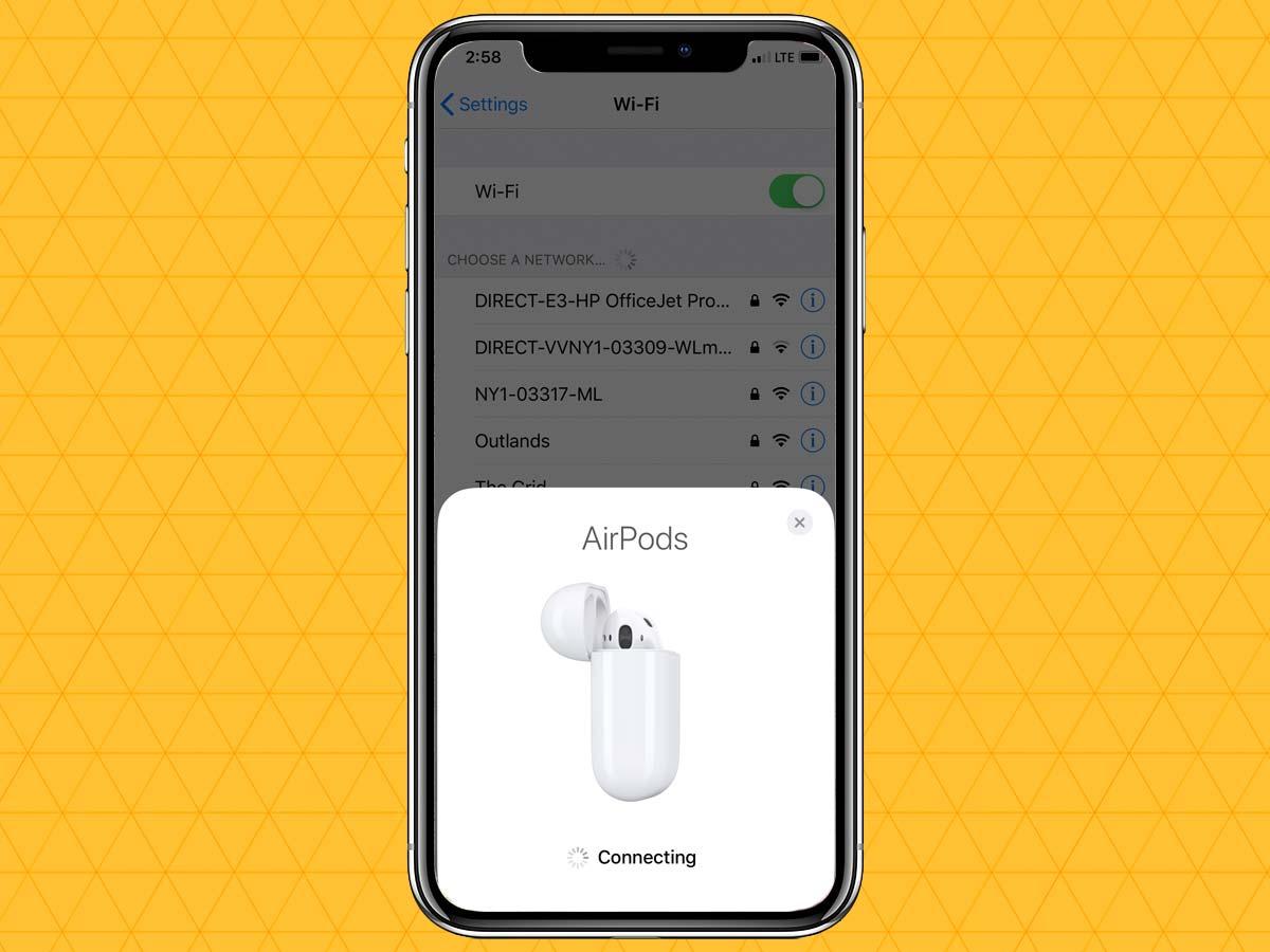 Cách kết nối tai nghe không dây qua Bluetooth trên iPhone XS, XR 9