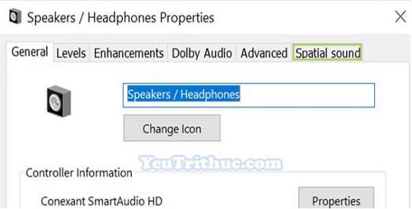 Cách kích hoạt, bật âm thanh Spatial Sound trên Windows 10 6
