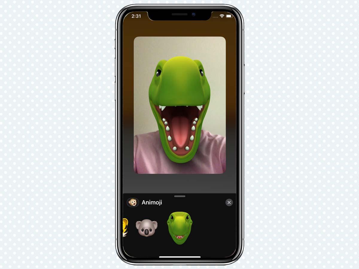 Cách sử dụng Animoji và Memoji khi gọi điện FaceTime trên iMessage 4