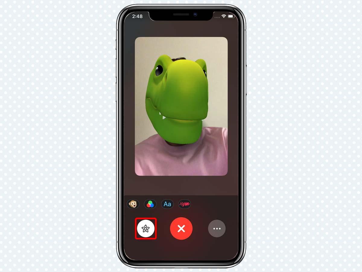 Cách sử dụng Animoji và Memoji khi gọi điện FaceTime trên iMessage 6
