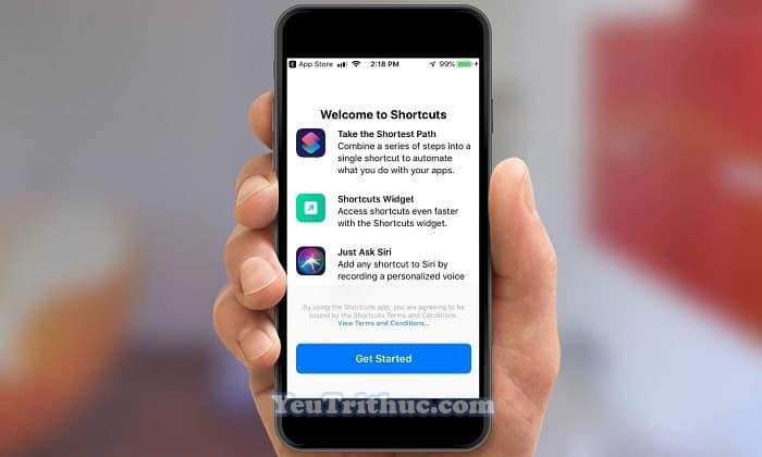 Cách download tải ứng dụng phím tắt Shortcuts dành cho iOS 12 1