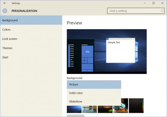 Cách tự tạo giao diện Theme riêng tùy chỉnh trên Windows 10 3