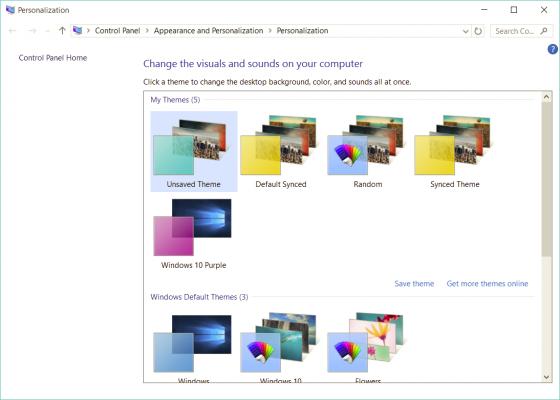 Cách tự tạo giao diện Theme riêng tùy chỉnh trên Windows 10 6