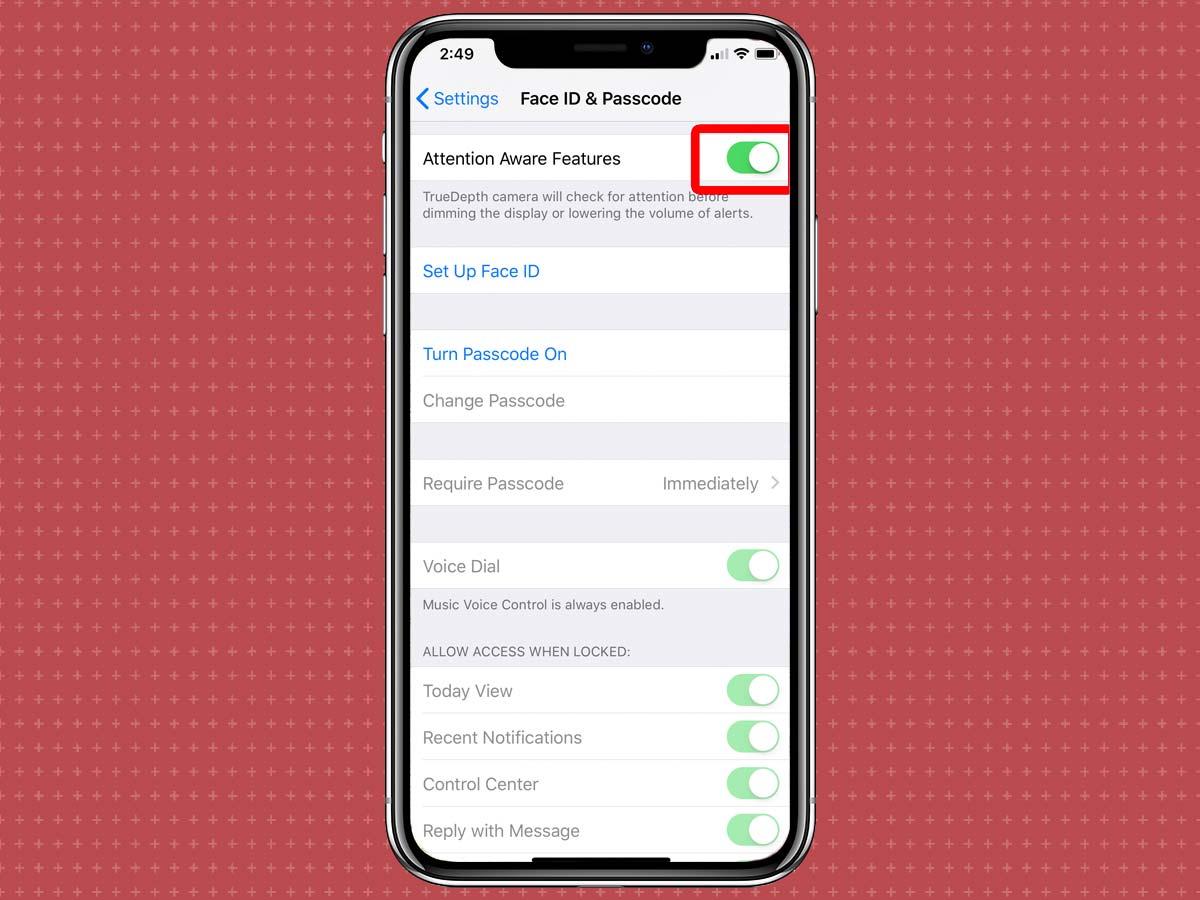 Cách chỉnh thời gian khóa màn hình iPhone XS, XR 3