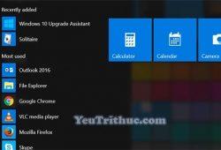Cách vô hiệu hóa, bật tắt hiệu ứng trong suốt trên Windows 10 1