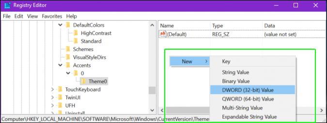 Cách thêm màu nền tùy chỉnh cho Windows 10 10