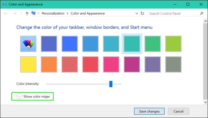 Cách thêm màu nền tùy chỉnh cho Windows 10 3