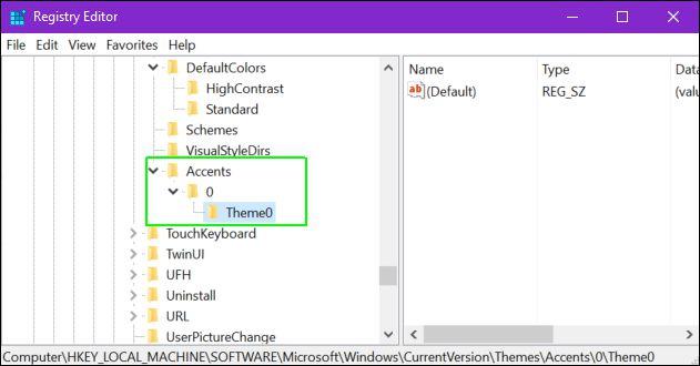 Cách thêm màu nền tùy chỉnh cho Windows 10 9