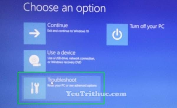 Cách truy cập vào BIOS trên Windows 10 trực tiếp trong hệ điều hành 6