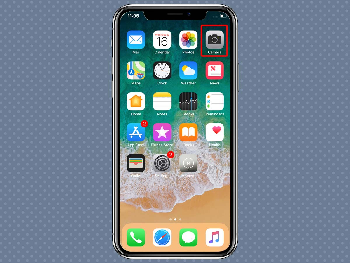 Cách sử dụng Zoom quang học, kỹ thuật số iPhone XS, iPhone X 1