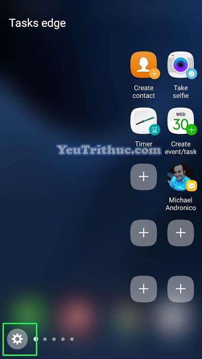 Cách thiết lập cài đặt màn hình cong ở cạnh Galaxy S7 Edge 6