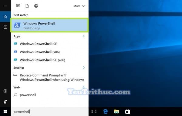 Cách gỡ bỏ cài đặt và khôi phục ứng dụng mặc định Windows 10 4