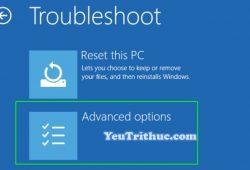 Cách khởi động hệ thống nâng cao Windows 10 với Advanced Startup 12