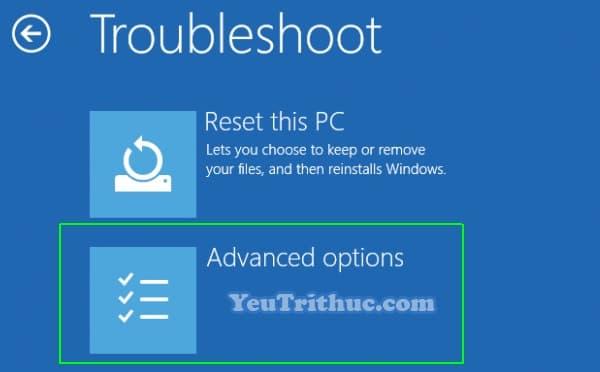 Cách khởi động hệ thống nâng cao Windows 10 với Advanced Startup 6