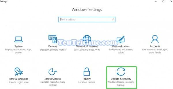 Cách khởi động hệ thống nâng cao Windows 10 với Advanced Startup 8