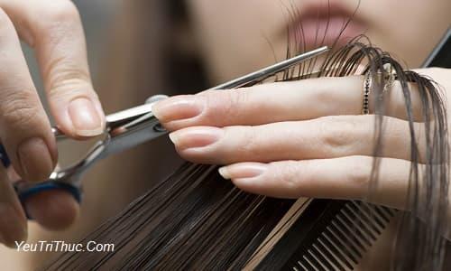 Bà bầu có được cắt tóc không, vì sao mang thai kiêng cắt tóc