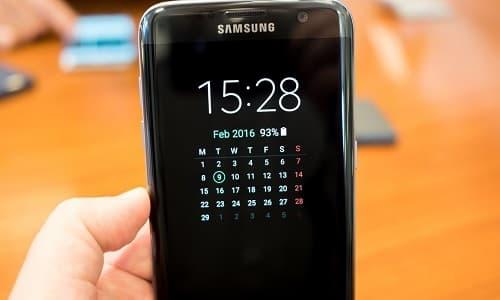 Cách bật tắt, thiết lập Always On Display trên Galaxy S7, S7 Edge 10
