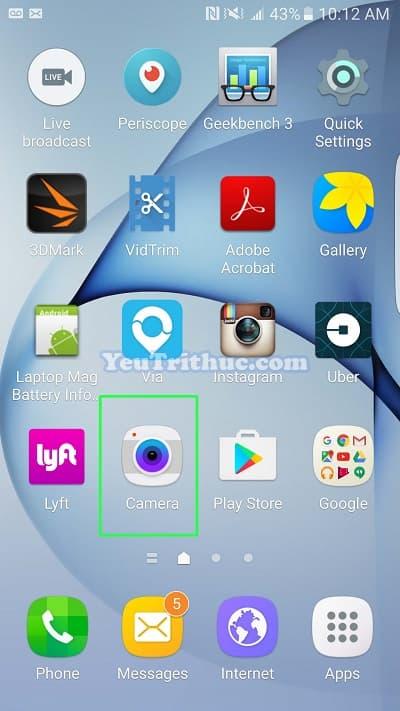 Cách bật Tracking AF trên Galaxy S7, S7 Edge lấy nét và theo dõi 1