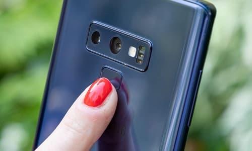 Cách thiết lập cài đặt cảm biến dấu vân tay trên Galaxy Note 9 1