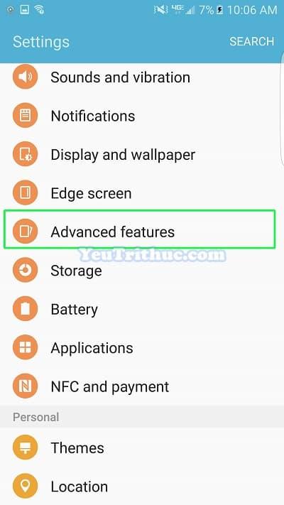 Cách bật tắt, cài đặt Game Launcher trên Galaxy S7 và S7 Edge 4