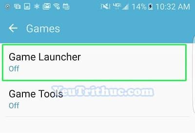 Cách bật tắt, cài đặt Game Launcher trên Galaxy S7 và S7 Edge 6