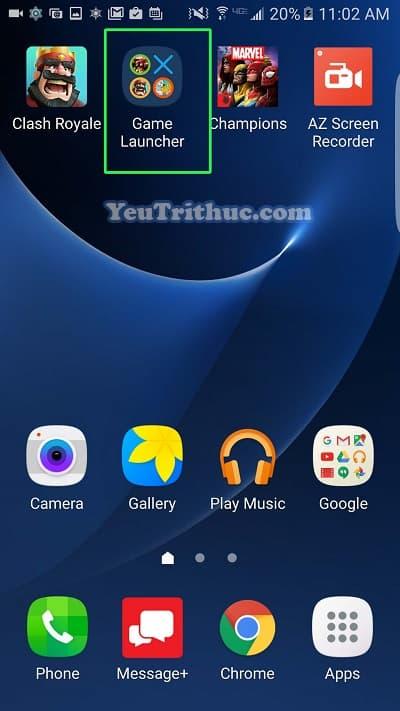 Cách bật tắt, cài đặt Game Launcher trên Galaxy S7 và S7 Edge 8