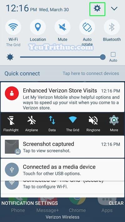 Cách thiết lập cài đặt cảm biến vân tay trên Galaxy S7 và S7 Edge 2