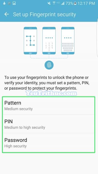 Cách thiết lập cài đặt cảm biến vân tay trên Galaxy S7 và S7 Edge 6