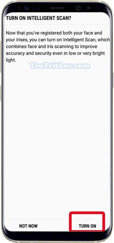 Cách kích hoạt, cài đặt quét mống mắt Iris Scan trên Galaxy Note 9 10