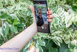Cách chụp ảnh Selfie bằng bút từ S Pen trên Galaxy Note 9 tự sướng 1