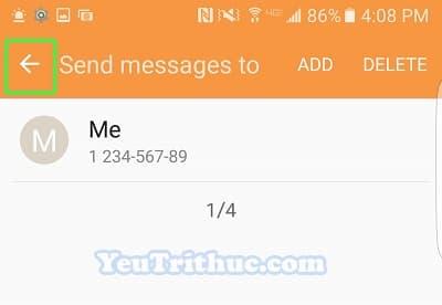 Cách bật tin nhắn khẩn cấp Send SOS Messages trên Galaxy S7, S7 Edge 11