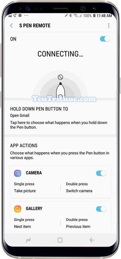 Cách thiết lập cài đặt và sử dụng bút từ S Pen trên Galaxy Note 9 4