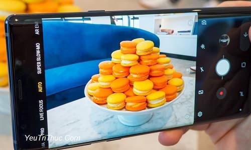 Cách bật tắt, sử dụng Scene Optimizer trên camera Galaxy Note 9 1