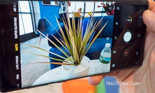 Cách điều chỉnh thay đổi khẩu độ camera trên Galaxy Note 9 thủ công 1