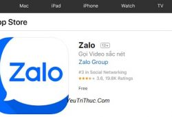 Cách cài đặt ứng dụng Zalo trên iPhone, iPad, App Store 1