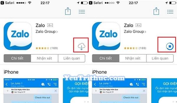 Cách cài đặt ứng dụng Zalo trên iPhone, iPad, App Store 2