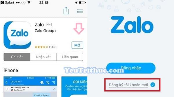 Cách cài đặt ứng dụng Zalo trên iPhone, iPad, App Store 3