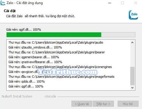 Hướng dẫn cách cài đặt Zalo trên máy tính, PC, laptop Windows 4