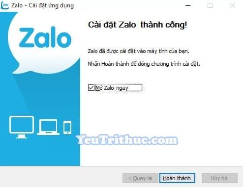 Hướng dẫn cách cài đặt Zalo trên máy tính, PC, laptop Windows 5