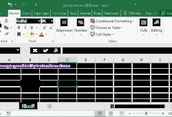 Cách định dạng chọn kiểu đường viền border cho Excel 2016 4